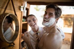 Gdy zatniemy się przy goleniu